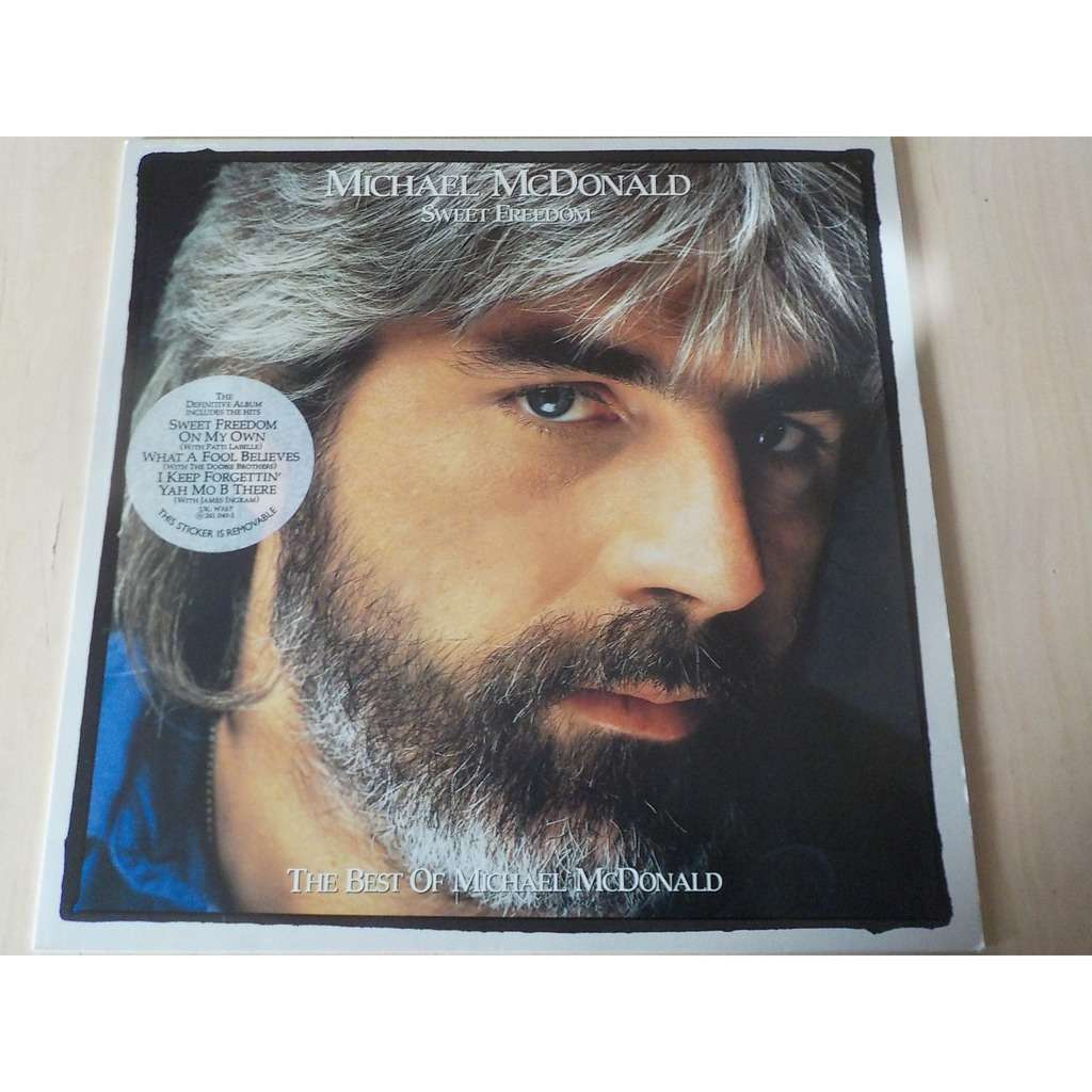 michael mcdonald sweet freedom best of