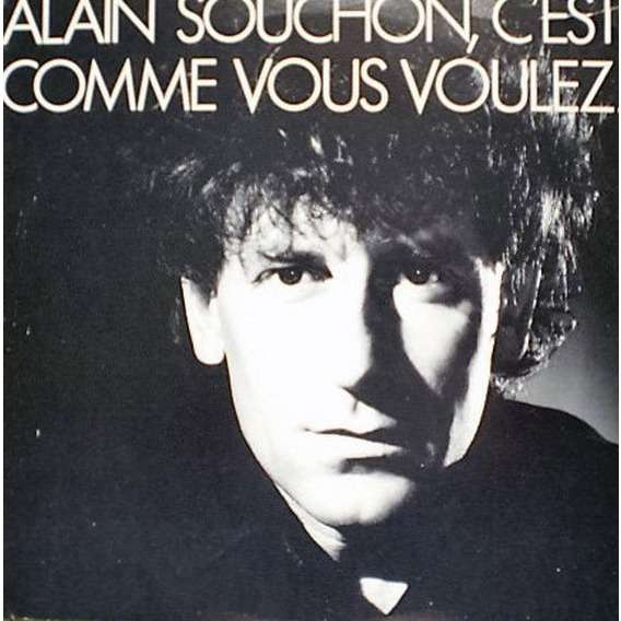 Alain Souchon c' est comme vous voulez - canada