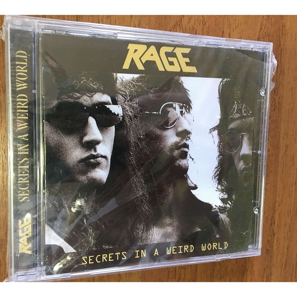 rage Secrets in a weird world +5 bonus tracks