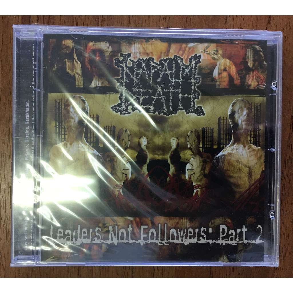 napalm death leaders not followers: Part 2 (Fono rec. 2004) sealed