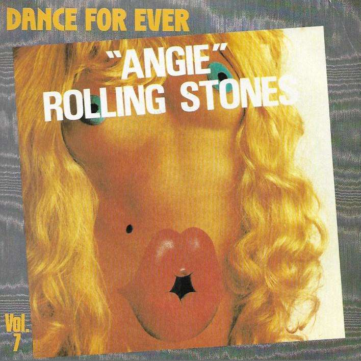 ROLLING STONES angie / silver train (dance for ever 82)