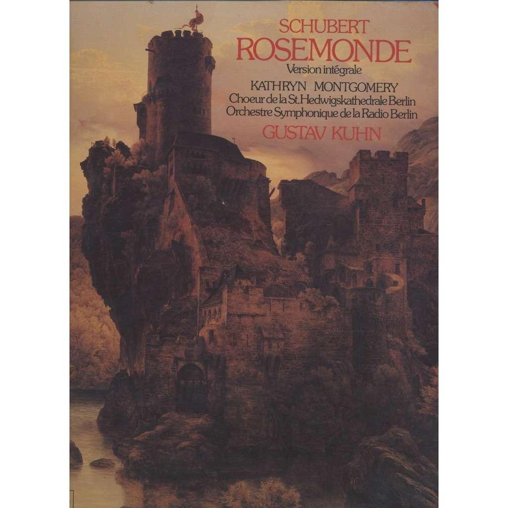 Franz Schubert Rosemonde D 797 ( Version integrale ) - Gustav Kuhn &  Kathryn Montgomery