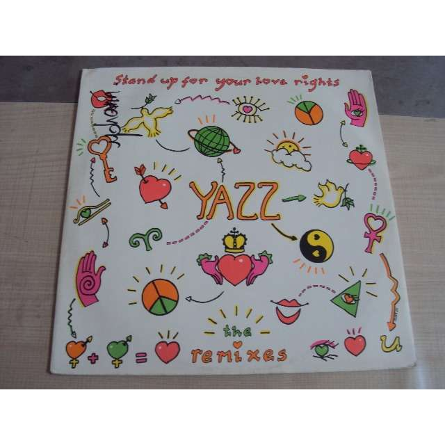 Yazz Stand Up For Your Love Rights (The remixes : Stadium disco mix / She's crazy mix) 1988 UK MAXIBOXLP