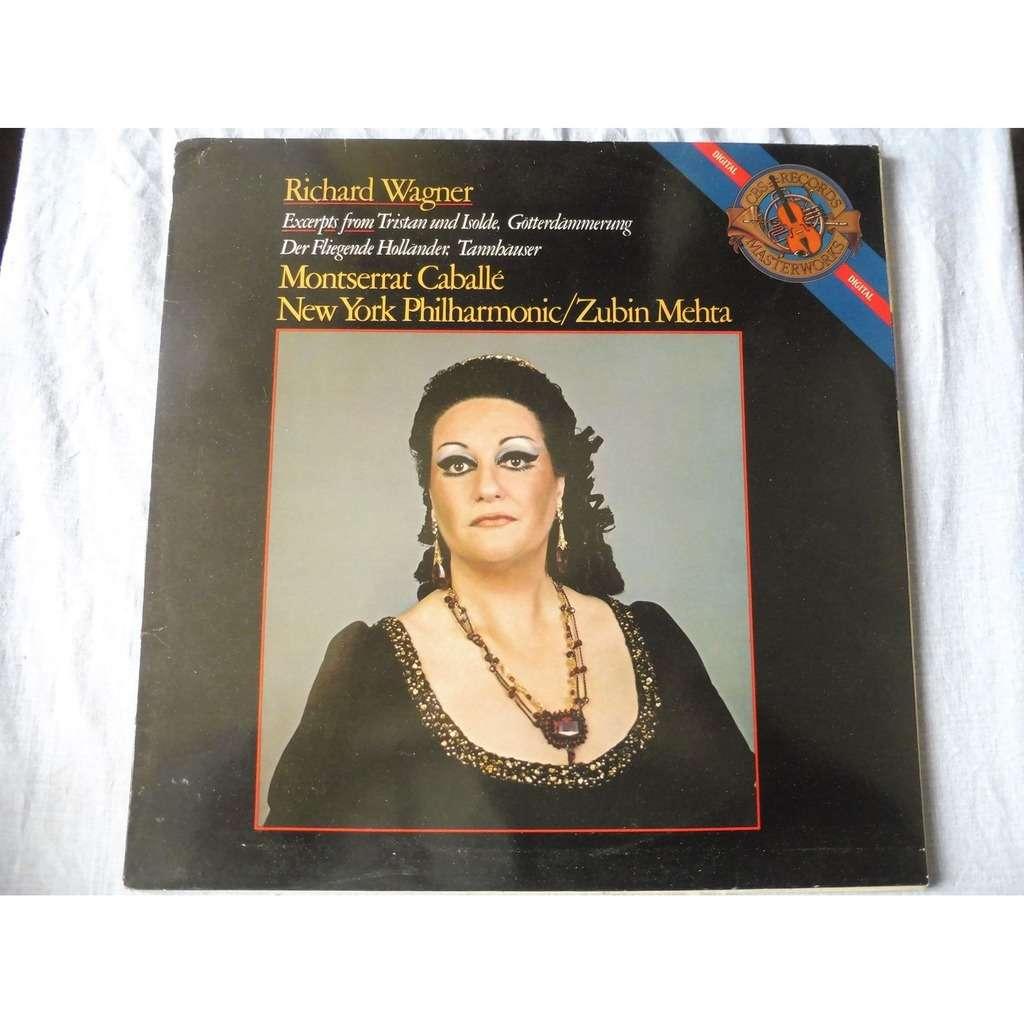 Montserrat Caballé - Zubin Metha Wagner : Excerpts from Tristan und Isolde,..