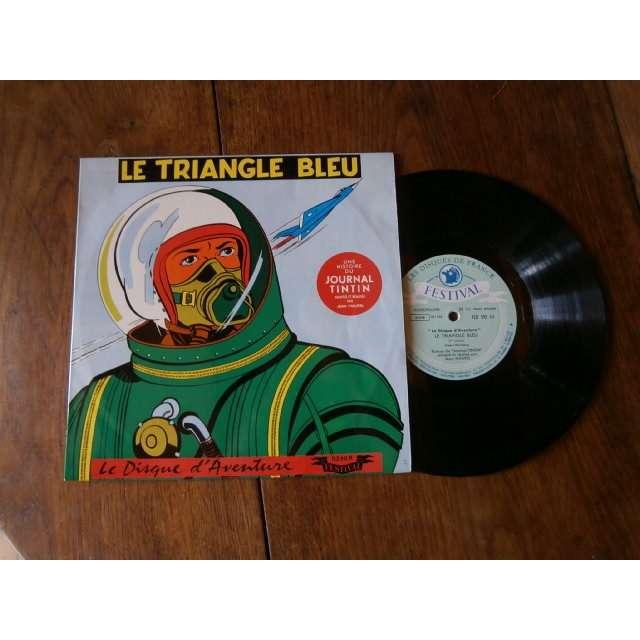 Journal de Tintin Le triangle bleu