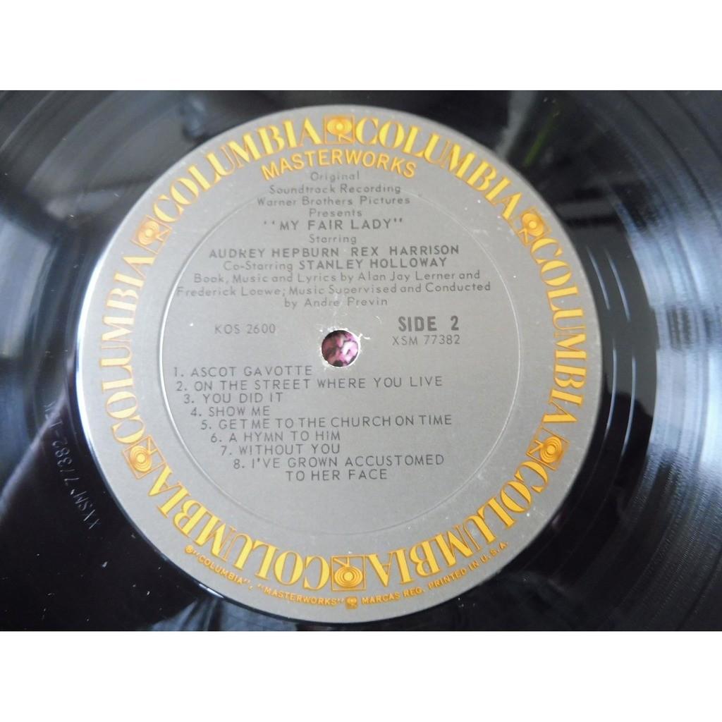 Audrey Hepburn, Rex Harrison My Fair Lady Soundtrack