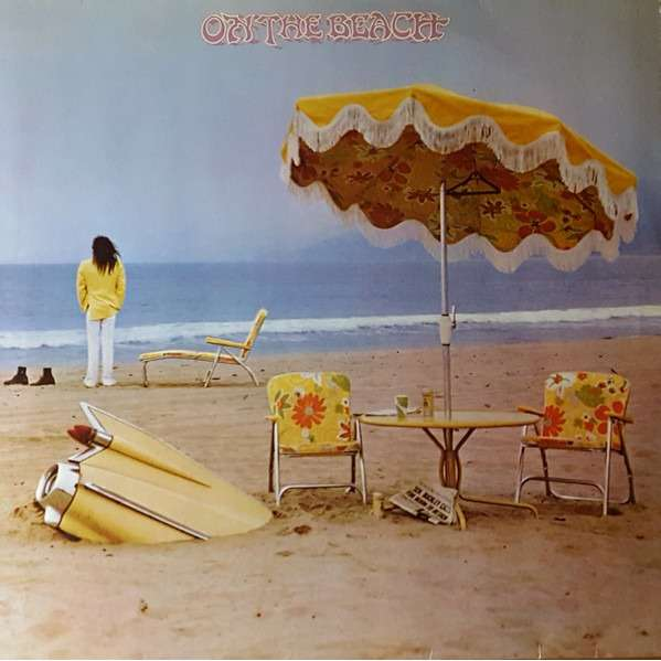 On The Beach By Neil Young Lp With French Connection
