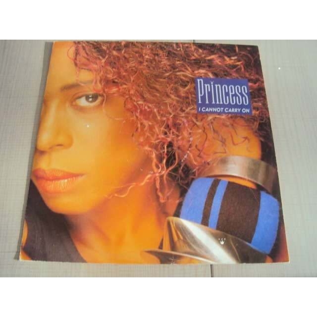 Princess I Cannot Carry On (Luge and lega mix 7'28) 1987 UK (MAXIBOXLP)