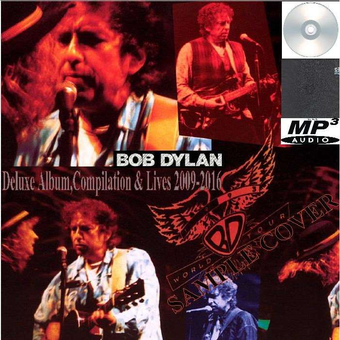 bob dylan Deluxe Album,Compilation & Lives 2009-2016 (6CD MP3)