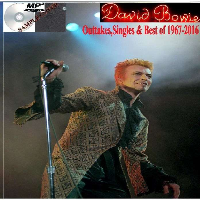 david bowie Outtakes,Singles & Best of 1967-2016 (6CD MP3)