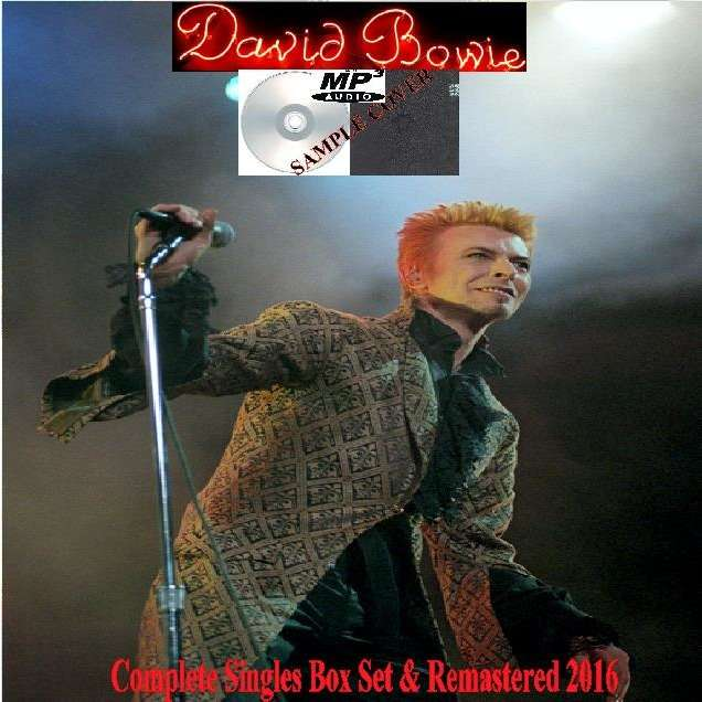 david bowie Complete Singles Box Set & Remastered 2016 (6CD MP3)