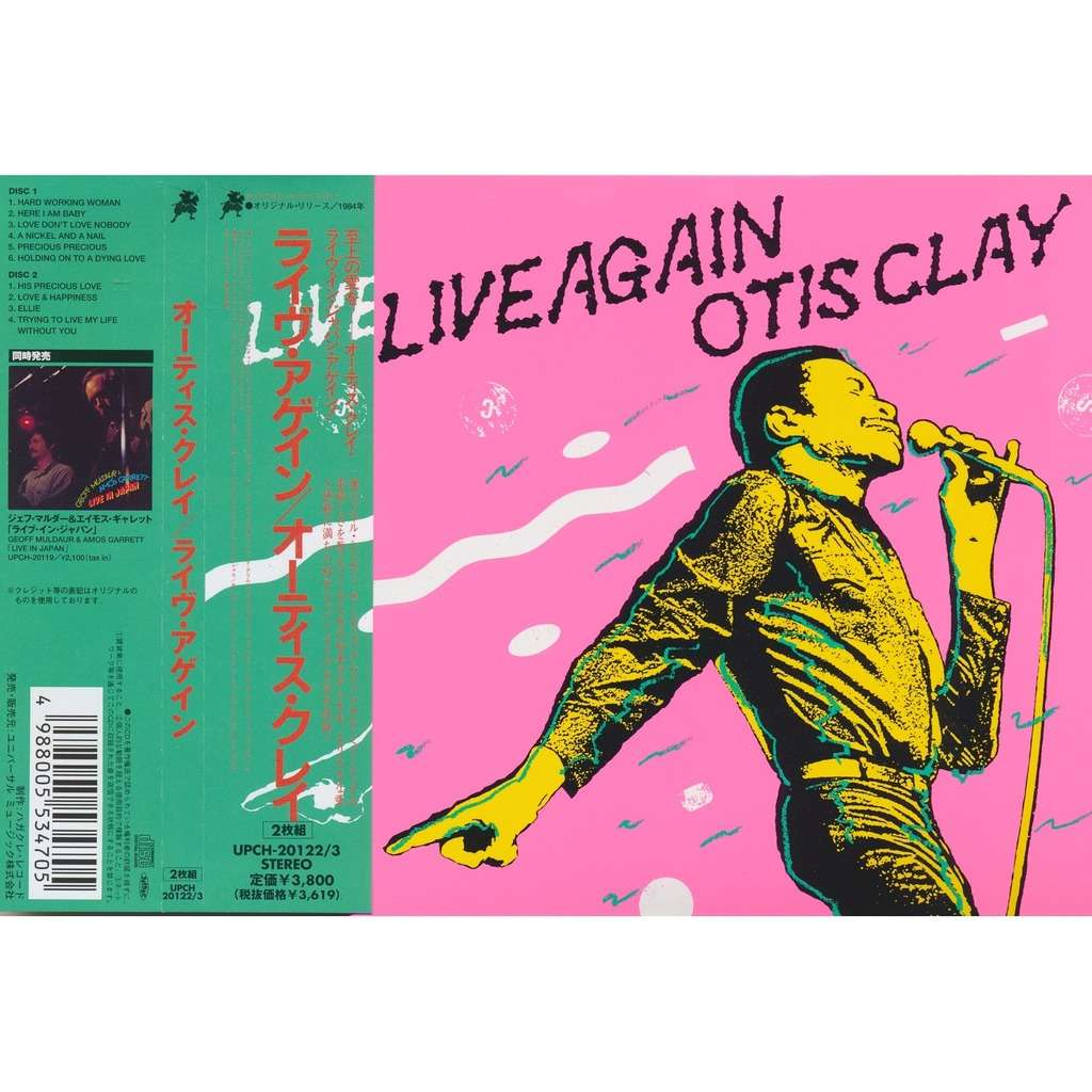 Live again! by Otis Clay, CD x...
