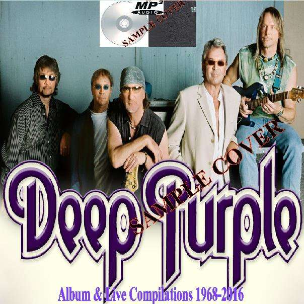 deep purple Album & Live Compilations 1968-2016 (6CD MP3)