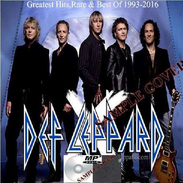 def leppard Greatest Hits,Rare & Best Of 1993-2016 (6CD MP3)