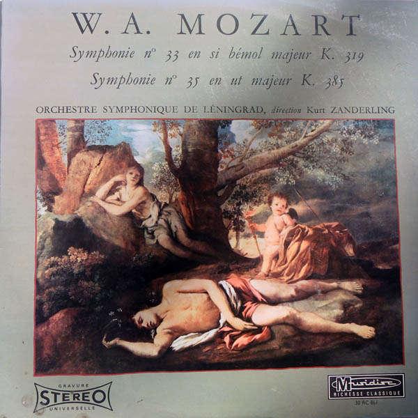 Kurt Sanderling Mozart : Symphonies n°33 & 35