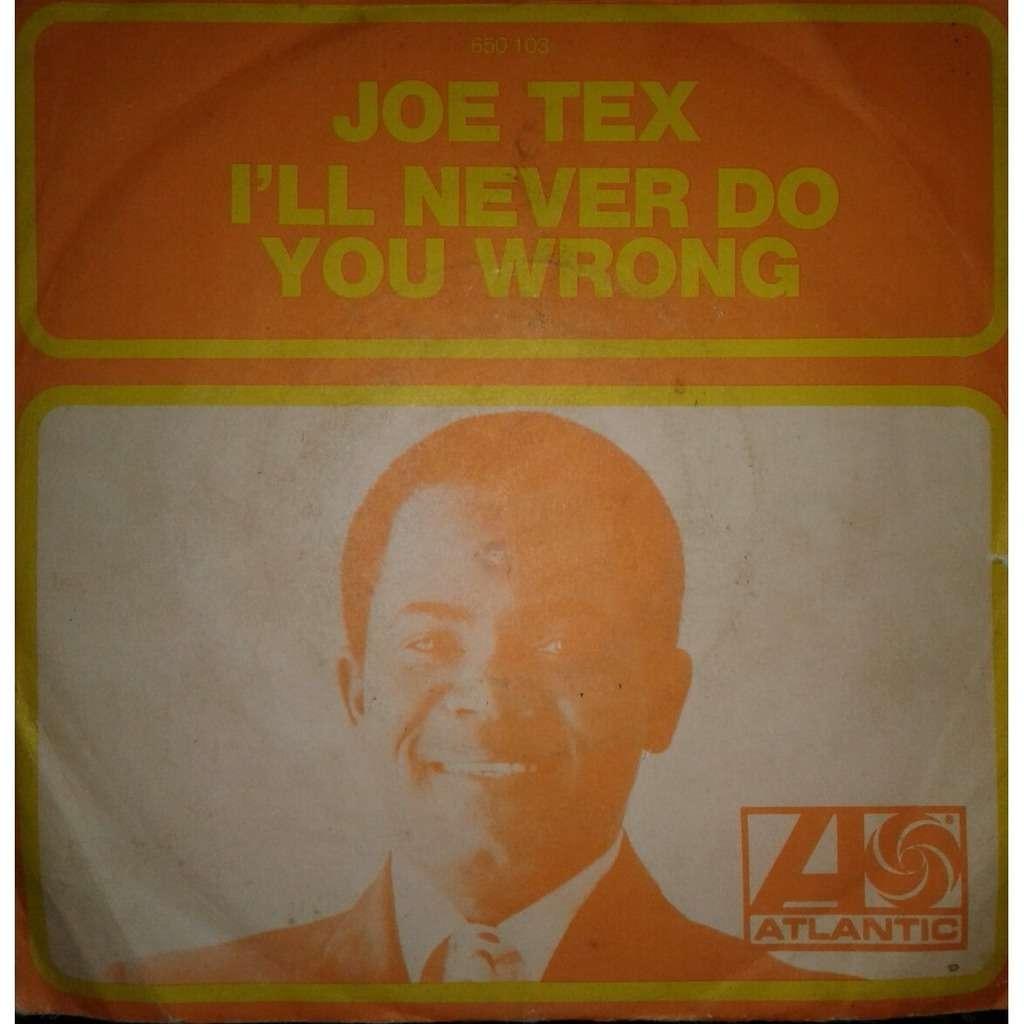 Joe Tex I'll Never Do You Wrong / Wooden Spoon (BIEM)