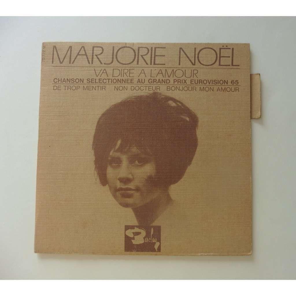 MARJORIE NOEL ( LANGUETTE ) VA DIRE A L'AMOUR ( EUROVISION 1965 ) + 3