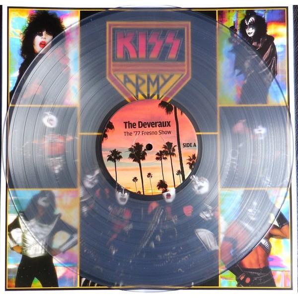 KISS SUPERSTARS OF 77 CRYSTAL LP