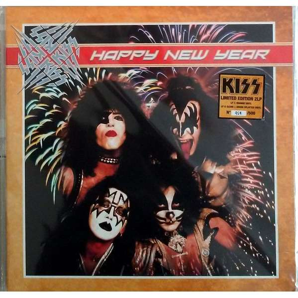 KISS HAPPY NEW YEAR 2LP