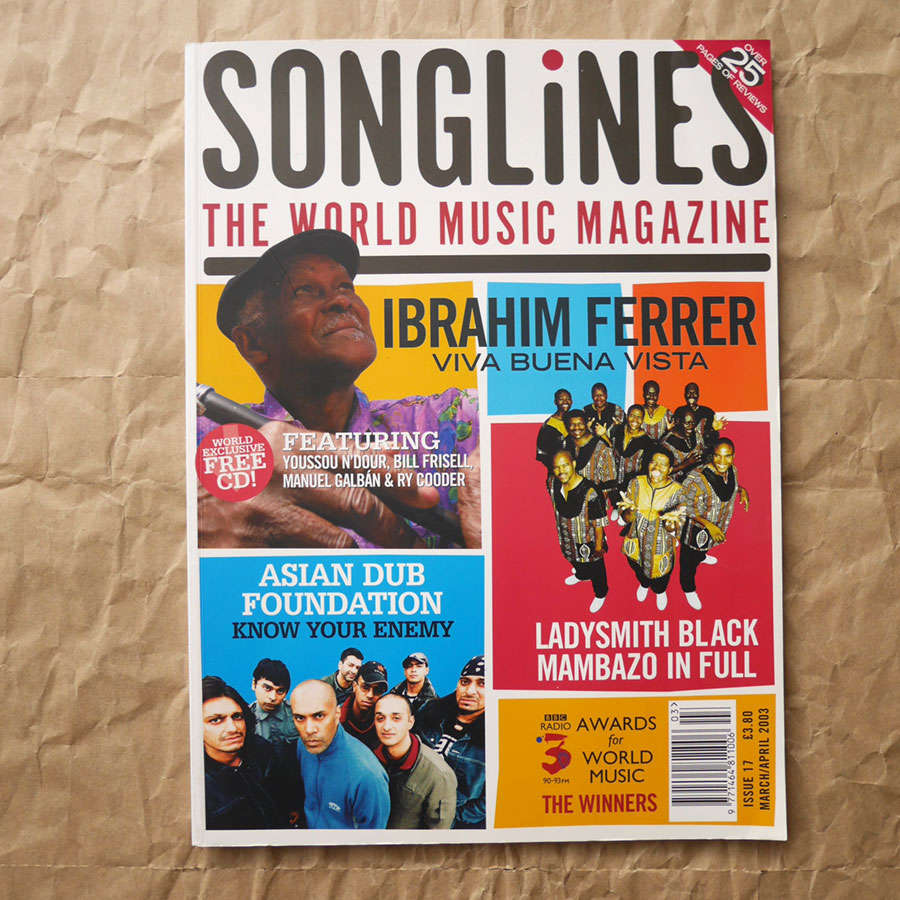 Songlines Issue 17 - March/April 2003