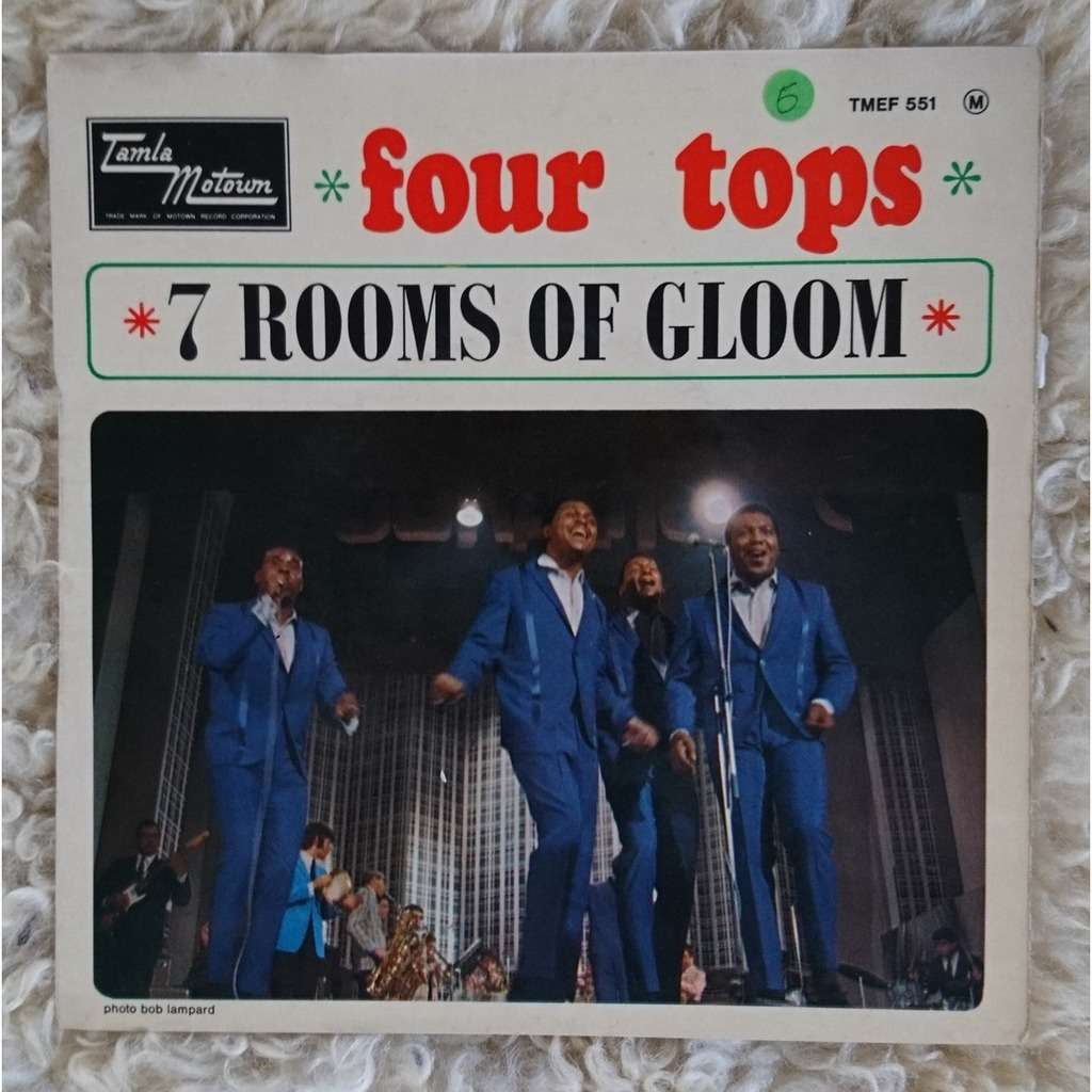 Four Tops I'll Turn To Stone - Is There Anything That I Can Do - 7 Rooms Of Gloom - Darling I Hum Our Song