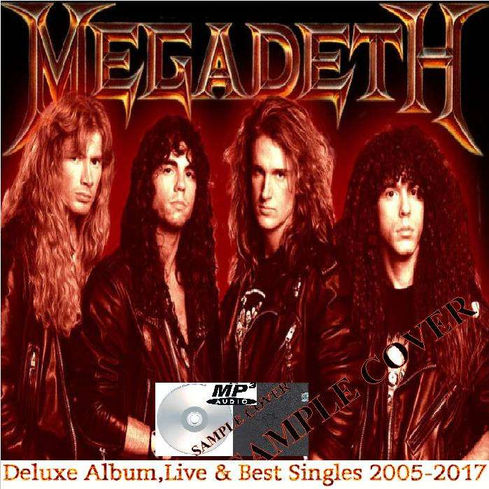 megadeth Deluxe Album,Live & Best Singles 2005-2017 (6CD MP3)