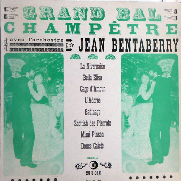 Jean Bentaberry & son orchestre champêtre grand bal champêtre
