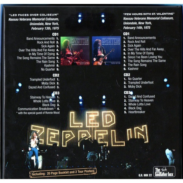 Led Zeppelin Throwing The Wild Seeds 6CD Box Set