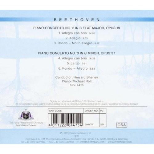 Michael Roll / Howard Shelley / Royal Philharmonic Beethoven : Piano Concertos: No. 2 / No. 3