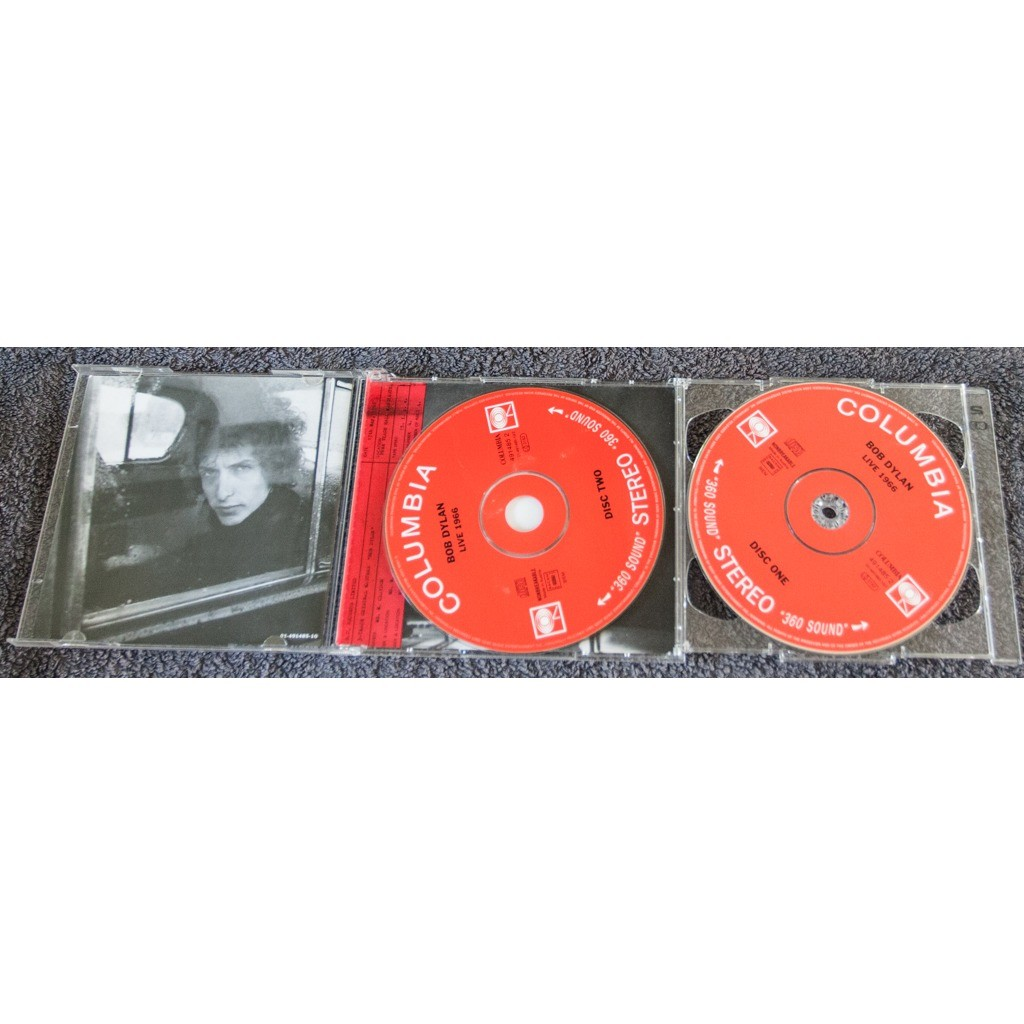 Live 1966 the royal albert hall concert bootleg series 4 by Bob Dylan, CD x  2 with gustave10