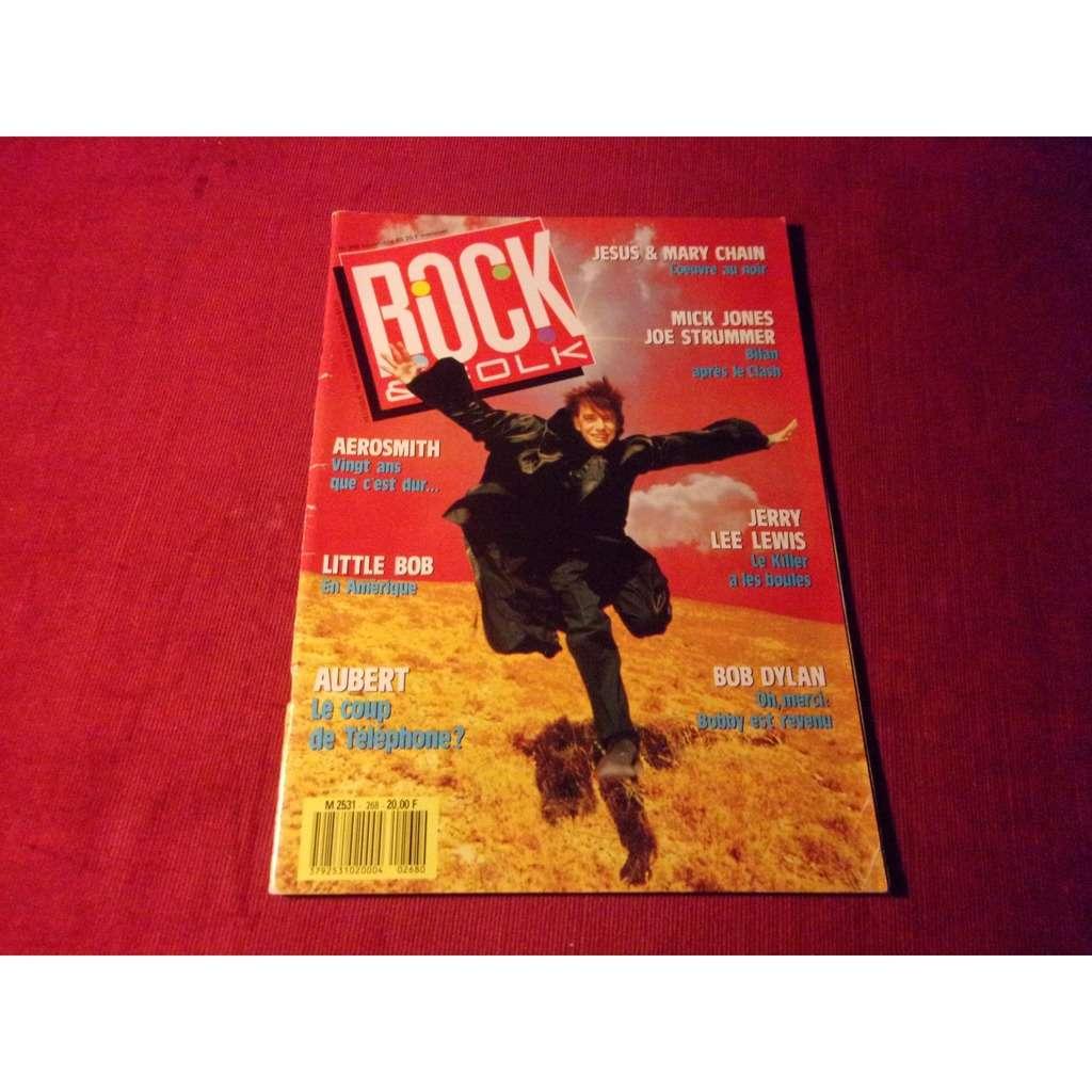 jean louis aubert ROCK FOLK NOVEMBRE 1989