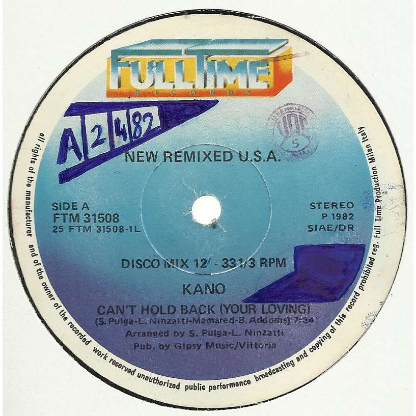 KANO // Jimmy ROSS can't hold back (your loving) , remix / fall into a  trance , remix