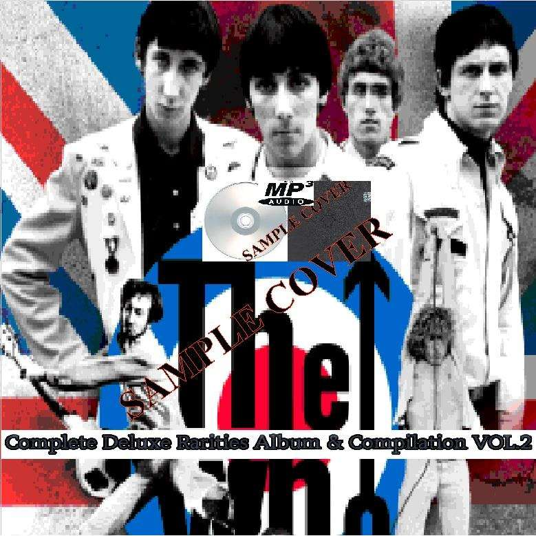 the who Complete Deluxe Rarities Album & Compilation VOL.2 (1994-2016) (6CD MP3)