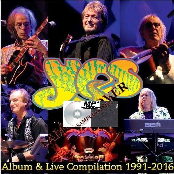 yes Album & Live Compilation 1991-2016 (6CD MP3)