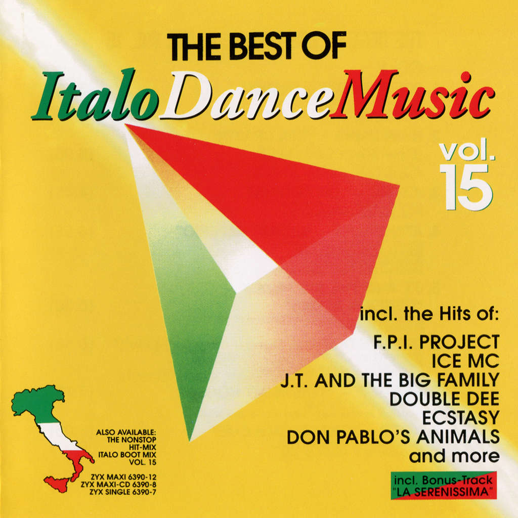 Various Artists The Best Of Italo Disco Vol  15