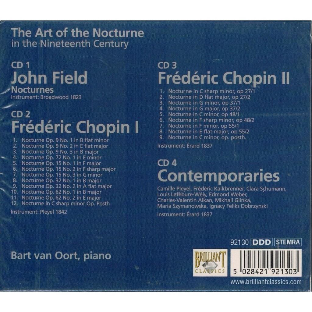 Nocturnes (complete) / bart van oort de Field / Chopin / Various Romantic  Composers, CD x 4 chez melomaan
