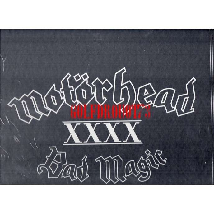 MOTORHEAD BAD MAGIC .. ( BOX SET LP + CD )