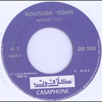 Boutaiba Sghir malgre tout / yal ghira