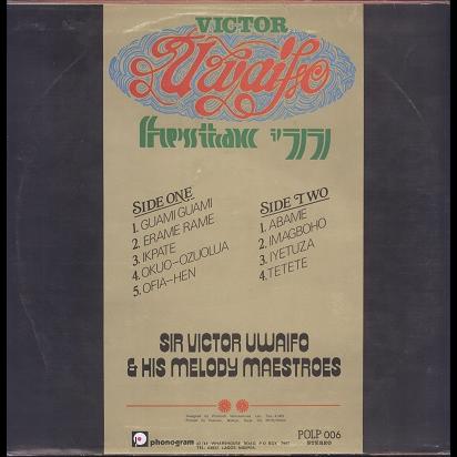 Sir Victor Uwaifo & His Melody Maestroes Festac 77