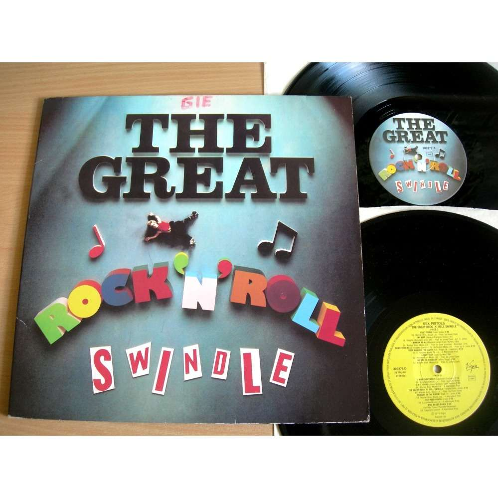 SEX PISTOLS The great Rock 'n' Roll swindle ( 300279 )