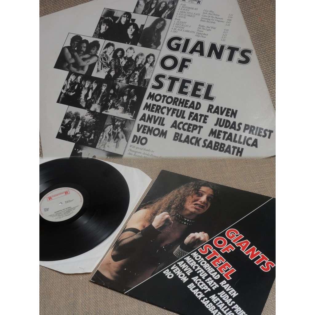 Various Giants Of Steel