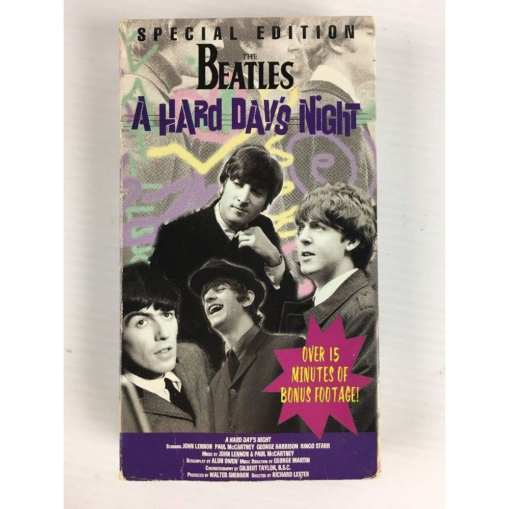 BEATLES A HARD DAY'S NIGHT -special edition 108mn / usa ntsc-
