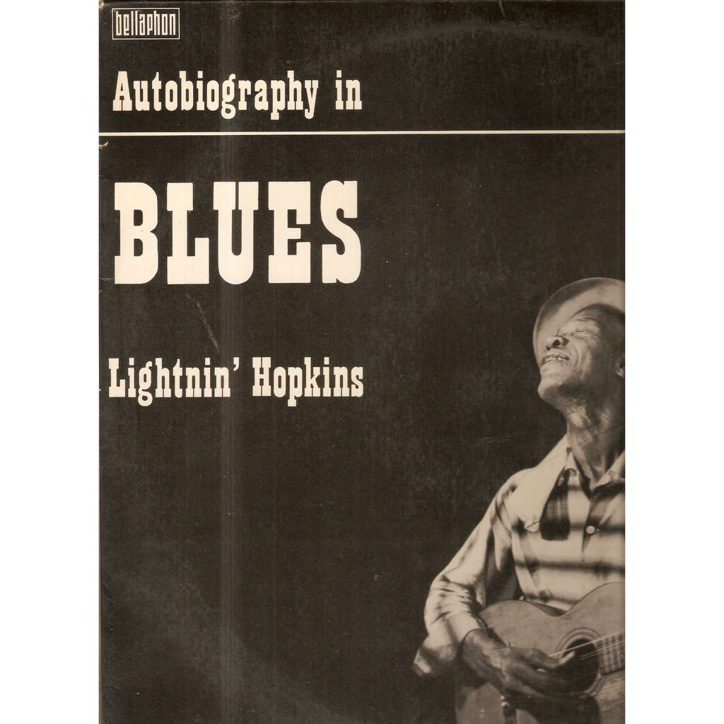 LIGHTNIN' HOPKINS AUTOBIOGRAPHY IN BLUES