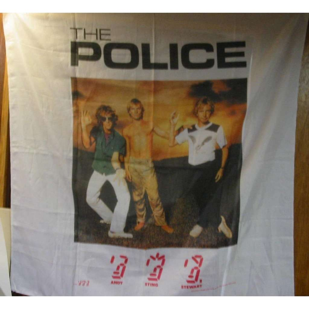Police 4 Foot Wall Hanging