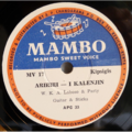 W.K.A. LABOSO & PARTY - Aririri-I kalenjin / Ngungunyandenyon - 78 rpm