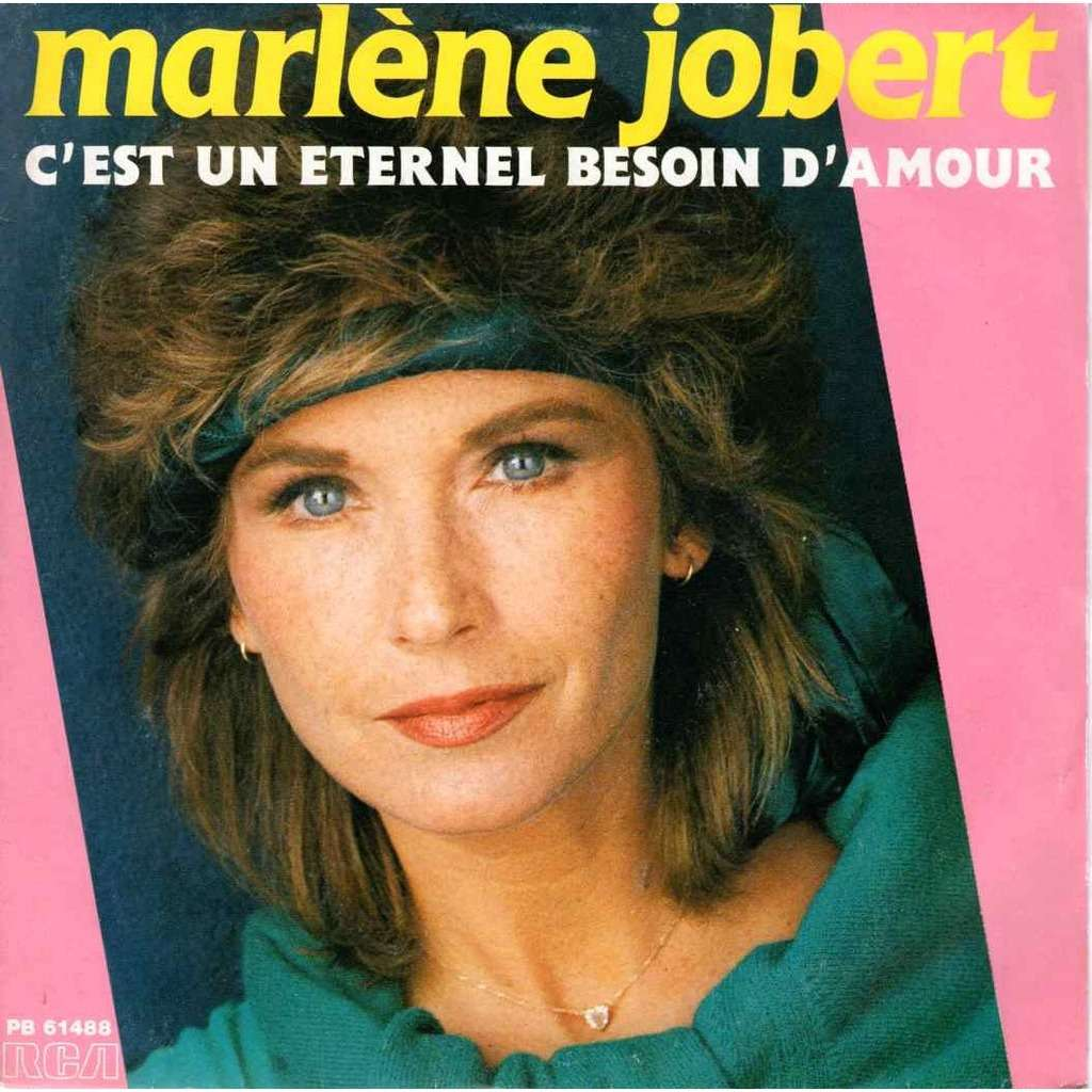Marlene Jobert c'est un eternel besoin d'amour / Peux pas le dire