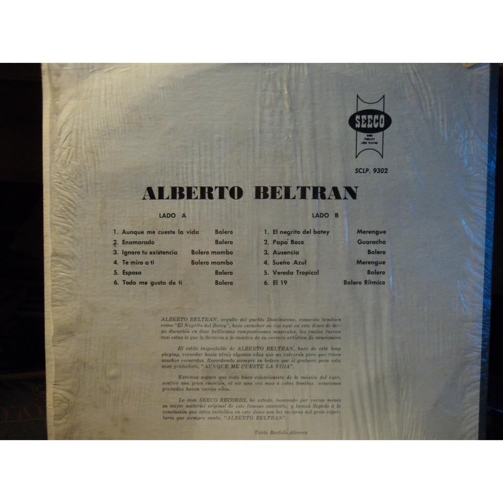 Canta sus mejores exitos by Alberto Beltran, LP with billidede