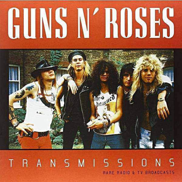 GUNS N' ROSES Transmissions: Rare Radio & TV Broadcasts (lp)