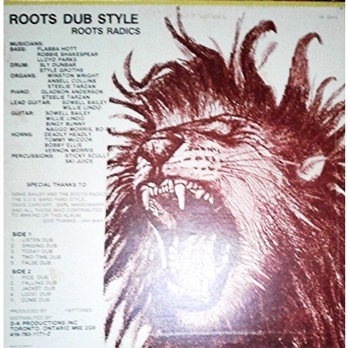 The Roots Radics Roots Dub Style