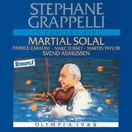 Stephane Grappelli Olympia 1988